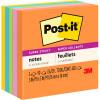 POST-IT 654-5SSUC SUPER STICKY Ultra Colours 76x76mm Asstd