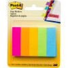 POST-IT 670-5AN PAGE MARKERS Neon 500 Asstd 13x44mm