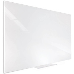 VISIONCHART ACCENT GLASS WHITEBOARD 600x450mm White