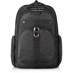 EVERKI ATLAS TRAVEL FRIENDLY LAPTOP BACKPACK 13 Inch to 17.3 Inch compartment Black