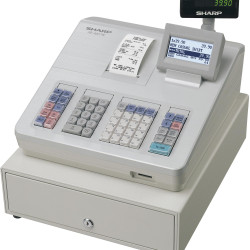 SHARP A207 CASH REGISTER White