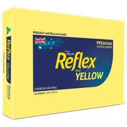 REFLEX TINTS COPY PAPER A4 80gsm Yellow