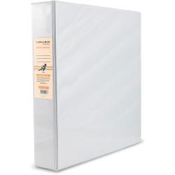 BIBBULMUN A4 INSERT BINDER 2D 50mm White