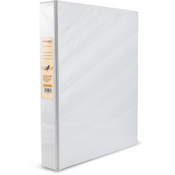 BIBBULMUN A4 INSERT BINDER 4D 25mm White